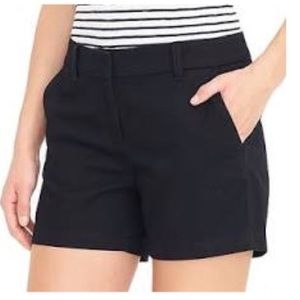 J.crew black chino shorts 6